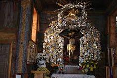 Znalezione obrazy dla zapytania słupca kościół drewniany