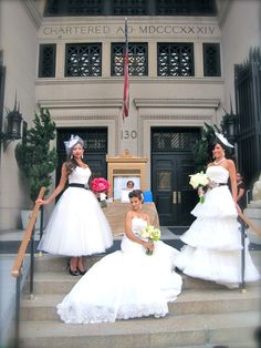 Styling The Bride Models at The Wedding Salon at Capitale NYC