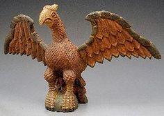 Folk Carving; Schimmel Style, Eagle, Spread Wing, 26 inch.