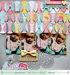 By: Paige Evans. #scrapbooking #mygirl #americancrafts
