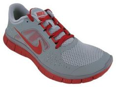 Buy Nike Men's NIKE FREE RUN+ RUNNING SHOES 11.5 (WOLF GREY/GYM RED/STEALTH) Find Best Deals - http://wholesalesportss.com/buy-nike-mens-nike-free-run-running-shoes-11-5-wolf-greygym-redstealth-find-best-deals