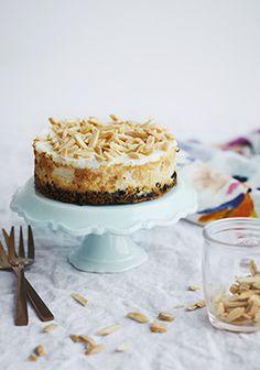 Petit gâteau au fromage & à la banane