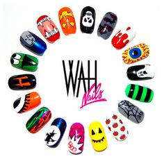 #halloween #wah #nails