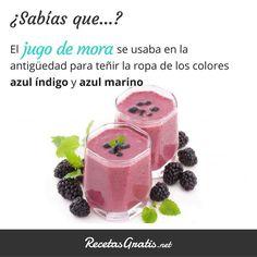 Curiosidades sobre las frutas - moras #RecetasGratis #Expresiones #Quotes #FrasessobreComida #SabíasQué #Moras #JugodeMora