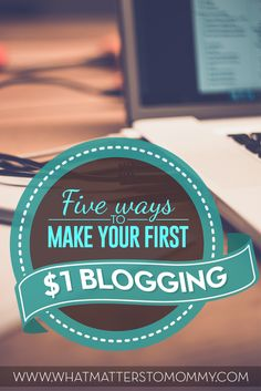 Blogging, if done right can prove to be an amazing source of income. In fact, if you take it seriously you can actually make a living out of it. Today, we are going to look at 5 easy ways through which you can generate your first income.