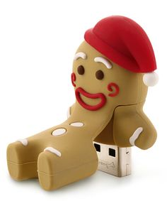 Gingerbread Man 8 GB USB Drive & Changeable Cover. It's the gingerbread man :D