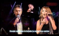 """Celine Dion y Andrea Bocelli cantando """"The Prayer"""" es realmente hermoso"""