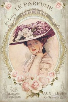 Vintage lady by Harrison Fisher ♥ Vintage Labels, Vintage Ephemera, Vintage Cards, Vintage Paper, Vintage Postcards, Decoupage Vintage, Shabby Vintage, Vintage Flowers, Shabby Chic