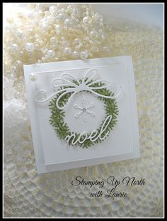 stamping up north with laurie: Poppystamps Noel Snowflake