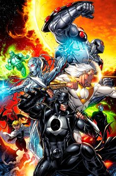 Stormwatch color by JPRart.deviantart.com on @deviantART