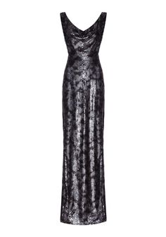Powderham Dress Silver