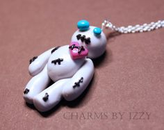 Cute voodoo doll charm necklace £3.00