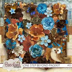 One Step Beyond 51 new release from #boolanddesigns. On sale now!