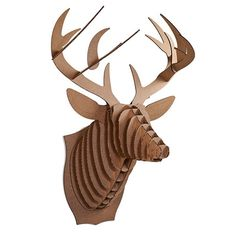 For the hunter who has everything, the Deer Trophy is the over-the-top gift they definitely won't expect. Each Deer Trophy is laser-cut for precision fit and easy assembly using slotted construction. They also look great in their native brown or white and can be decorated with paint, glitter or other craft materials. The perfect companion [...]