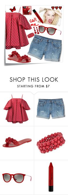 """""""""""Cut to the Feeling""""- Carly Rae Jepsen"""" by blondemommy ❤ liked on Polyvore featuring Post-It, Anna October, Gap, By Terry, Sophia Webster, Ross-Simons, Ray-Ban, Forever 21 and Kenneth Jay Lane"""