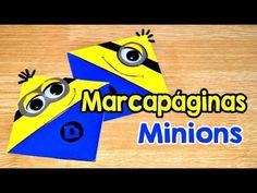DIY: Marcapáginas Minions - Brotes De Creatividad - YouTube