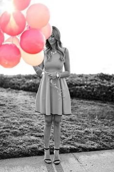 21 Stylish Ways to Wear Pink This Summer: Pretty Pink Dress Outfit Color Composition, Rosa Rock, Cute Dresses, Cute Outfits, Dresses Dresses, Fall Dresses, Dress Skirt, Dress Up, Flare Dress