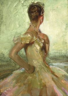 Johanna Harmon (b.1968)  Bejewelled, private collection.