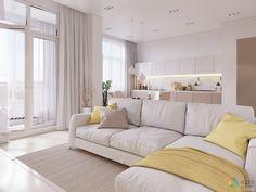 Pionerskaya – 140m | Современный дизайн квартиры