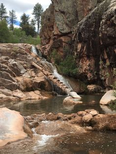 Your Kids Will Love This 1 Mile Waterfall Hike Right Here In Arizona Arizona Travel Destinations Honeymoon Backpack Backpacking Vacation Wanderlust Off the Beaten Path Budget Arizona Road Trip, Arizona Travel, Prescott Arizona, Sedona Arizona, Tuscan Arizona, Greer Arizona, Payson Arizona, Payson Az, Arizona Usa