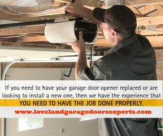20$ OFF New Opener With Installation At Loveland Garage Door Repair Expert