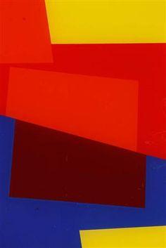 Lauritz.com - Grafik - Ib Geertsen, serigrafi på glas, kompositioner (3) - DK, Roskilde, Store Hedevej