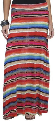 #Wet Seal                 #Skirt                    #Tropical #Stripe #Maxi #Skirt #Shop #Stripes #Seal                           Tropical Stripe Maxi Skirt | Shop Stripes at Wet Seal                                                   http://www.seapai.com/product.aspx?PID=311383