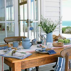 Porch table.