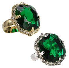 Roberta Chiarella - emerald empire state ring