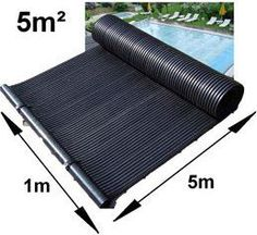 Want to know all the ins and outs of how a solar pool heater works? Discover the best products to use and how to get the most out of solar energy. Diy Pool Heater, Solar Water Heater, Swimming Pool Heaters, Swimming Pools, Small Backyard Pools, Home Improvement Contractors, Pool Accessories, Pool Supplies, Heated Pool
