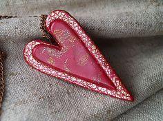 červené zlatisté Polymer Clay, Flip Flops, Women, Fashion, Moda, Women's, La Mode, Fasion, Fashion Models