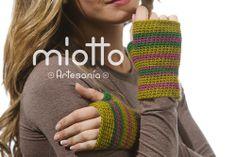Mitones sin dedos a Ganchillo | Crochet Mittens Gloves