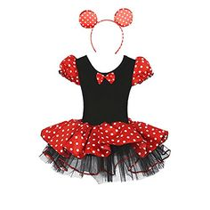 bfc63adb6b Cute Lovely Childrens Halloween Cosplay Anime Costume Show Clothing Mouse  Suit Ears Headband 6 Years Old