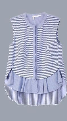 Handkerchief+Gingham+Shirt by
