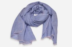Yarn Dyed Blue And Pink Cashmere Pashmina Handwoven Scarf Cashmere Pashmina, Color Depth, Dip Dyed, Square Scarf, Dyes, Shawls, Color Show, Walks, Hand Weaving