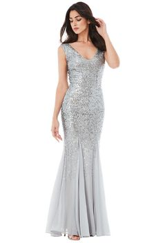 e026aaae1d620 14 Best WHOLESALE SEQUIN AND CHIFFON MAXI DRESS - DR627S images ...
