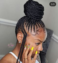 Top 60 All the Rage Looks with Long Box Braids - Hairstyles Trends Box Braids Hairstyles, Braided Ponytail Hairstyles, Braided Hairstyles For Black Women, My Hairstyle, Girl Hairstyles, Feed In Braids Ponytail, Braided Mohawk, Hair Ponytail, African Hairstyles
