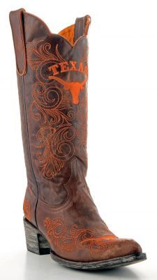 Womens Gameday Boots University Of Texas Longhorns Boots Brass Re-Pinned by http://high5collegeclub.com