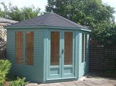 corner summerhouse uk - Google Search