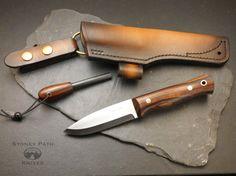 Bushcraft Knife/ Survival Knife/ Handmade/ Camping Knife/