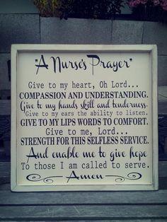 Nurses Prayer
