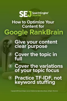 Explore how to optimize your content for RankBrain, and how it helps you to make the most out of this exciting search and business opportunity. https://www.searchenginejournal.com/optimize-content-google-rankbrain/163401/