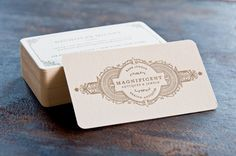 Two Paperdolls | Magnificent Antiques Business Card