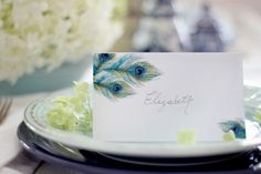 These cards are lovely for any table.