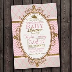 customized fast baby shower invitation fast por AmysSimpleDesigns
