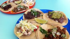 """La Taqueria, which means """"taco shop,"""" has two locations in Vancouver. Taco Shop, Mexican Food Recipes, Ethnic Recipes, Best Dining, Vancouver, Bakery, Tacos, Eat, Restaurants"""