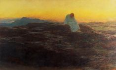 Christ In The Wilderness By Briton Riviere