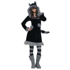 "A cute costume for a tween or teen that is more ""appropriate"" than many out there- OrientalTrading.com"