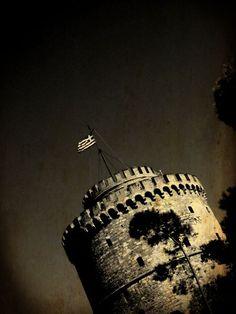 Leukos Purgos (White Tower) in Thessaloniki (Salonika), Greece