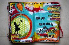 Love this art journal from @karen grunberg